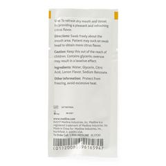 MEDMDS090600H - Medline - Lemon Glycerin Swabsticks, 75 EA/BX