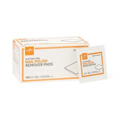 MEDMDS090780H - MedlineNail Polish Remover Pads