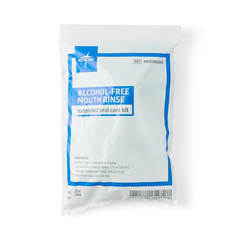 MEDMDS096000 - Medline - Extended Oral Care Kit with Biotene Rinse and 20 Swabs, 50 EA/CS