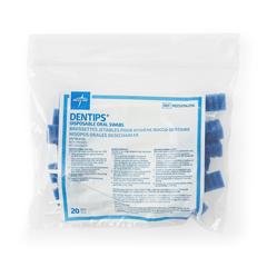 MEDMDS096206H - MedlineSwab, Oral, Foam, Untreated, 20Pk
