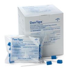 MEDMDS096508 - MedlineSwab, Oral, Dentips, Treated, Green, Bulk