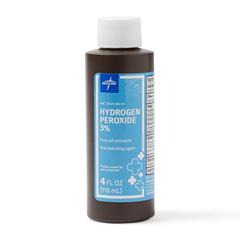 MEDMDS098014 - Medline - Hydrogen Peroxide, 4 oz.