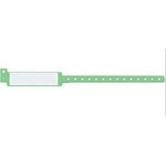 MEDMDS133037G - Medline - 12 Insert-Style Vinyl ID Band, Adult, Green, 250 EA/BX