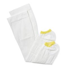 MEDMDS160624 - Medline - EMS Knee-High Anti-Embolism Stockings, White, Small, 12 PR/BX
