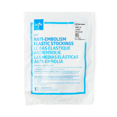 MEDMDS160664H - MedlineEMS Knee-High Anti-Embolism Stockings