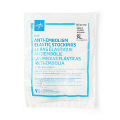 MEDMDS160684H - MedlineEMS Knee Length Anti-Embolism Stockings