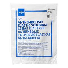 MEDMDS160694 - Medline - EMS Knee-High Anti-Embolism Stockings, White, XX-Large, 12 PR/BX