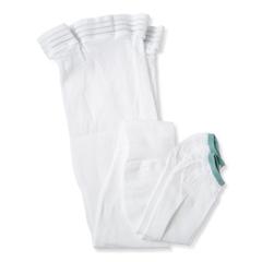 MEDMDS160888H - Medline - EMS Thigh-High Anti-Embolism Stockings, White, X-Large, 1/PR