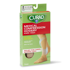 MEDMDS1700ETSH - CuradCURAD Knee-High Compression Hosiery