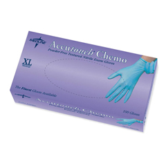 MEDMDS192087 - MedlineAccutouch Chemo Nitrile Exam Gloves