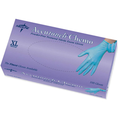 MEDMDS192087Z - MedlineAccutouch Chemo Nitrile Exam Gloves