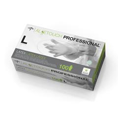 MEDMDS198156 - MedlineAloetouch Powder-Free Latex Exam Gloves