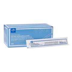 MEDMDS202000ZZ - Medline - Sterile Cotton-Tipped Applicator, 200 EA/BX
