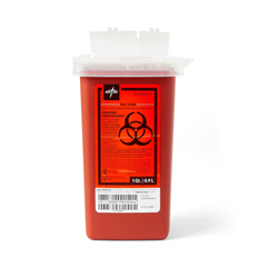 MEDMDS705110H - MedlinePhlebotomy Biohazard Sharps Containers