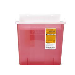 MEDMDS705153H - Medline - Biohazard Patient Room Sharps Container