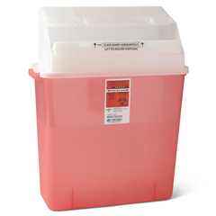 MEDMDS705203 - MedlineBiohazard Patient Room Sharps Container