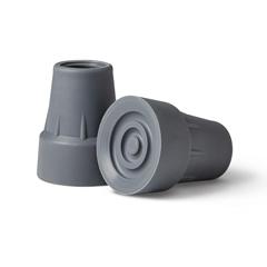 MEDMDS80266RW - Medline - Gray Crutch Tips, 6 PR/CS