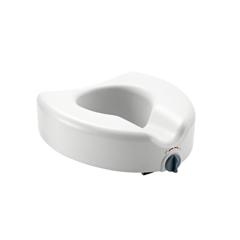 MEDMDS80314 - MedlineElevated Locking Toilet Seat