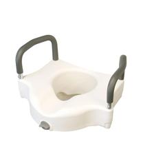MEDMDS80316H - MedlineElevated Locking Toilet Seat