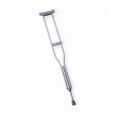 MEDMDS80337Z - MedlineEconomy Aluminum Crutches