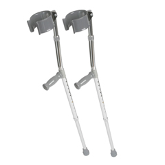 MEDMDS805160 - Medline - Forearm Crutches, 2 EA/PR