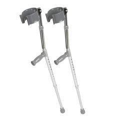 MEDMDS805161 - Medline - Forearm Crutches, 2 EA/PR