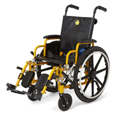 MEDMDS806140PD - MedlineKidz Pediatric Wheelchair