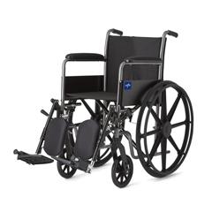 MEDMDS806200EE - MedlineK1 Basic Wheelchairs, 1/EA