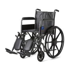 MEDMDS806200EV - MedlineK2 Basic Wheelchairs