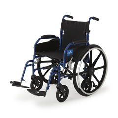 MEDMDS806250H2 - MedlineHybrid 2 Transport Wheelchair