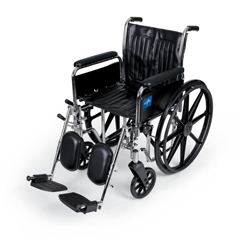 MEDMDS806300DFLA - Medline2000 Excel Wheelchair (MDS806300DFLA)
