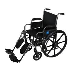 MEDMDS806300EE - MedlineK1 Basic Wheelchairs, 24.000, 1/EA
