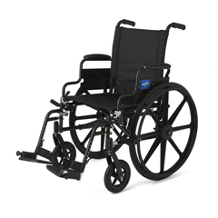 MEDMDS806500 - MedlineK4 Lightweight Wheelchairs, 1/EA