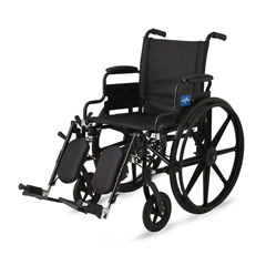 MEDMDS806550 - MedlineK4 Lightweight Wheelchairs, 1/EA