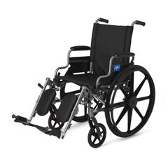 MEDMDS806550E - MedlineK4 Basic Lightweight Wheelchair (MDS806550E)