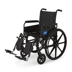 MEDMDS806550FLA - MedlineK4 Lightweight Wheelchair