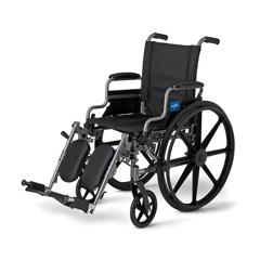 MEDMDS806550NE - MedlineK4 Basic Lightweight Wheelchair