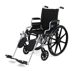 MEDMDS806565E - MedlineK4 Basic Lightweight Wheelchair (MDS806565E)