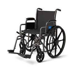 MEDMDS806600E - MedlineK3 Basic Lightweight Wheelchairs, 1/EA