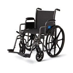 MEDMDS806600NE - MedlineK3 Basic Lightweight Wheelchairs, 1/EA
