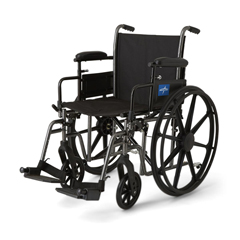 MEDMDS806600NEPL - MedlineK3 Basic Plus Wheelchairs, 1/EA