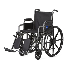 MEDMDS806650E - MedlineK3 Basic Lightweight Wheelchairs