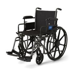 MEDMDS806660EPL - MedlineK3 Basic Plus Wheelchairs, 1/EA