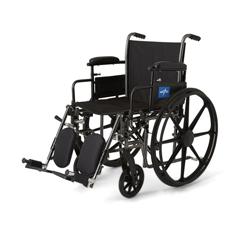 MEDMDS806665EPL - MedlineK3 Basic Plus Wheelchairs, 1/EA
