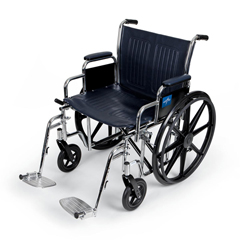 MEDMDS806700 - MedlineExtra-Wide Wheelchair (MDS806700)