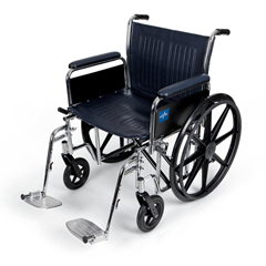 MEDMDS806700FLA - MedlineExtra-Wide Wheelchair