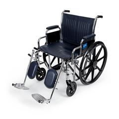 MEDMDS806750 - Medline - Extra-Wide Wheelchairs, 1/EA