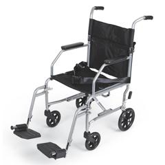 MEDMDS808150E - MedlineBasic Steel Transport Chair