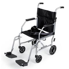 MEDMDS808200E - MedlineBasic Steel Transport Chair