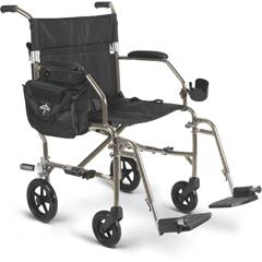MEDMDS808200F2S - MedlineFreedom 2 Transport Chair